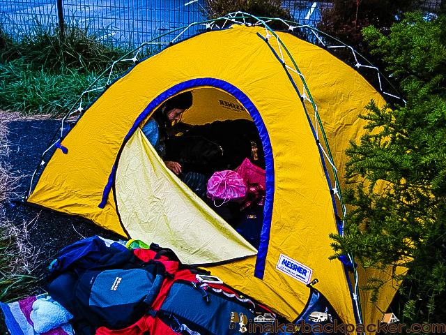 長野県 みどり湖 テント