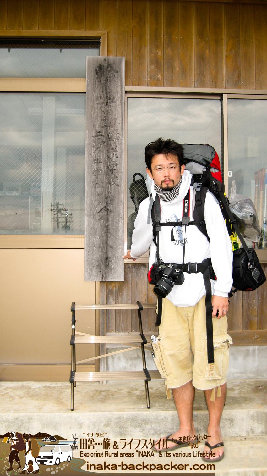 ようやく石川県舳倉島(へぐらじま)に到着した。At Hegura Jima island
