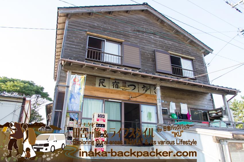 石川県舳倉島(へぐらじま)の「民宿つかさ」でビールを購入。