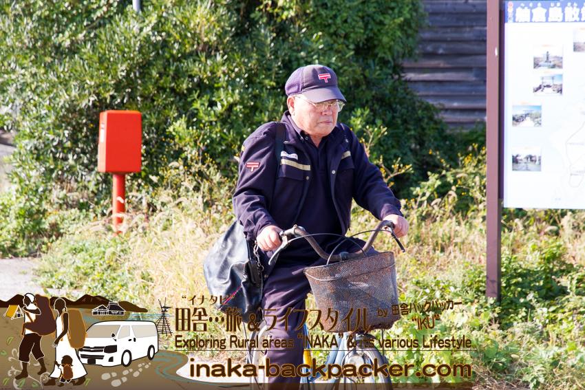 離島の舳倉島にも郵便物は届く