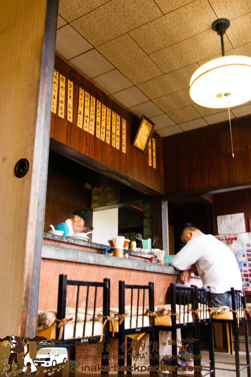 奥能登一周中 - ラーメン屋「ひろし」(石川県珠洲市)。
