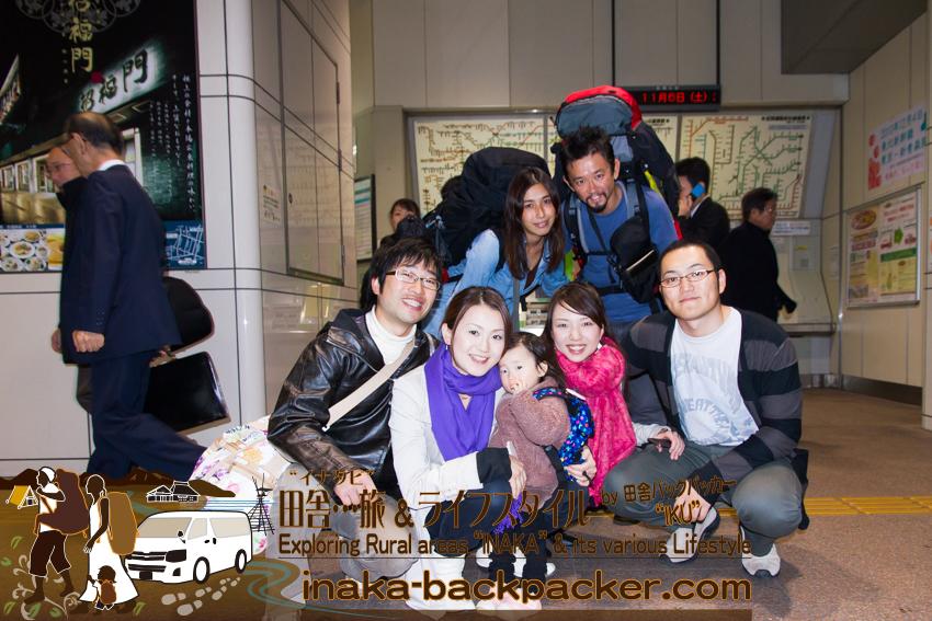 四国へ向かう前に、横浜中華街で結花の友だちたちに結婚を祝ってもらってた。(神奈川県横浜市)
