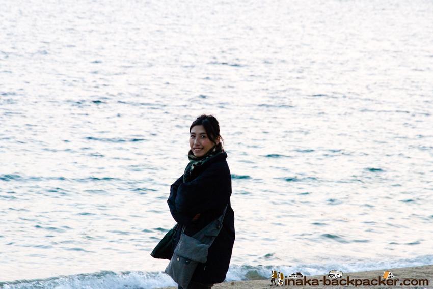 バックパッカー 中川結花子 興居島 瀬戸内海
