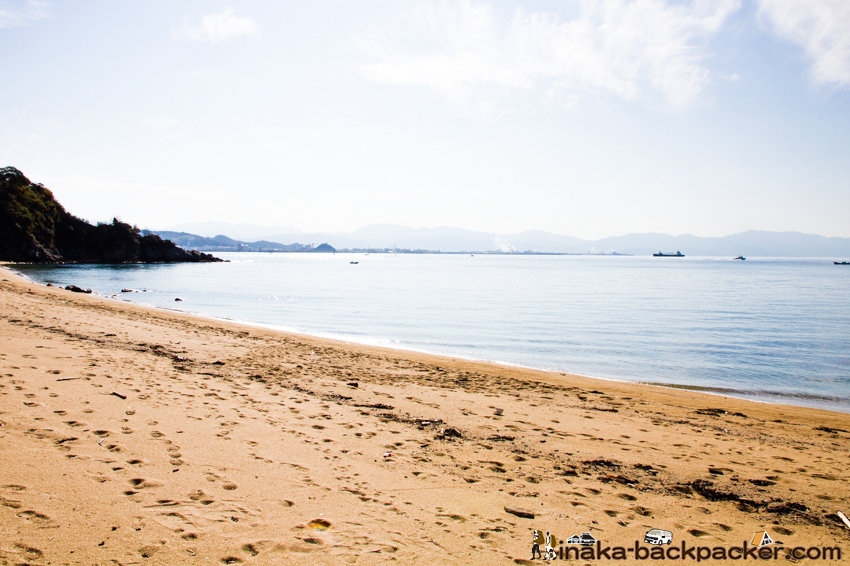 興居島 海水浴場 島博