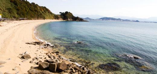 愛媛県 興居島 相子ヶ浜海水浴場