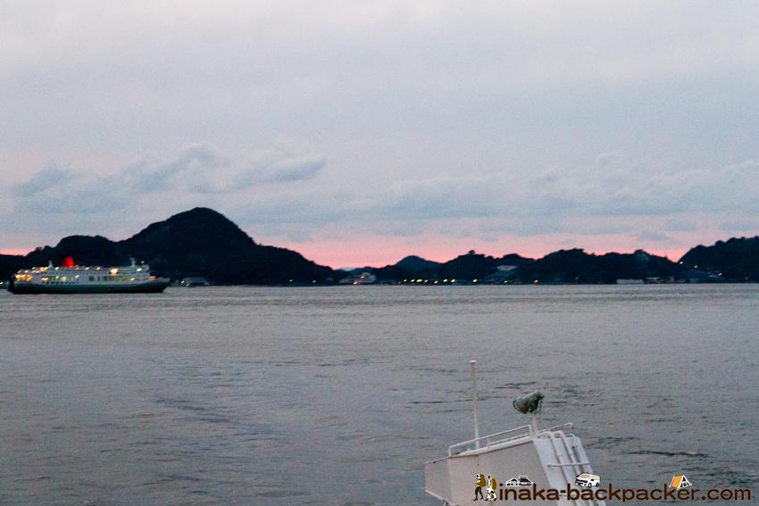 興居島 船
