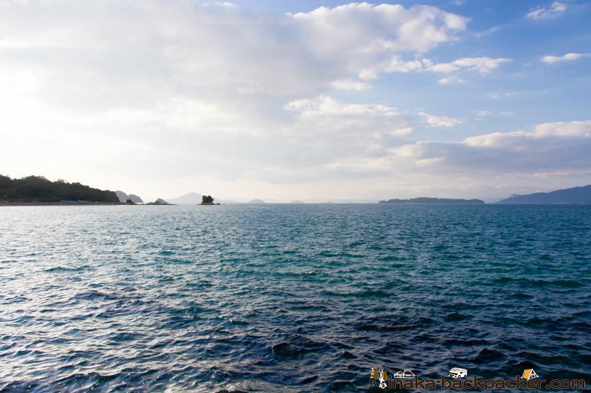瀬戸内海 怒和島 海