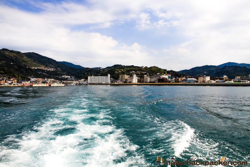 八幡浜 大島 船