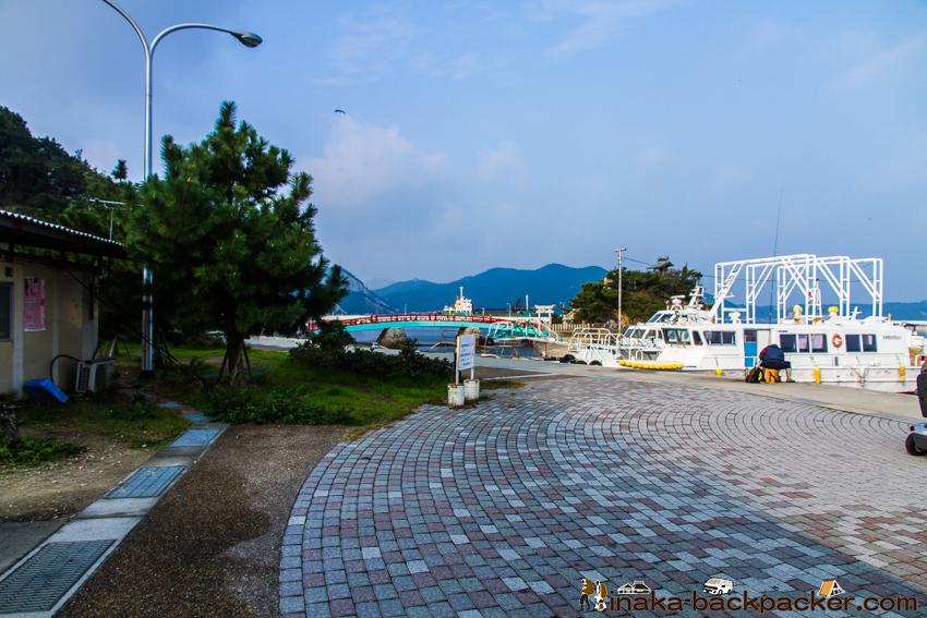 兵庫県 坊勢島 港
