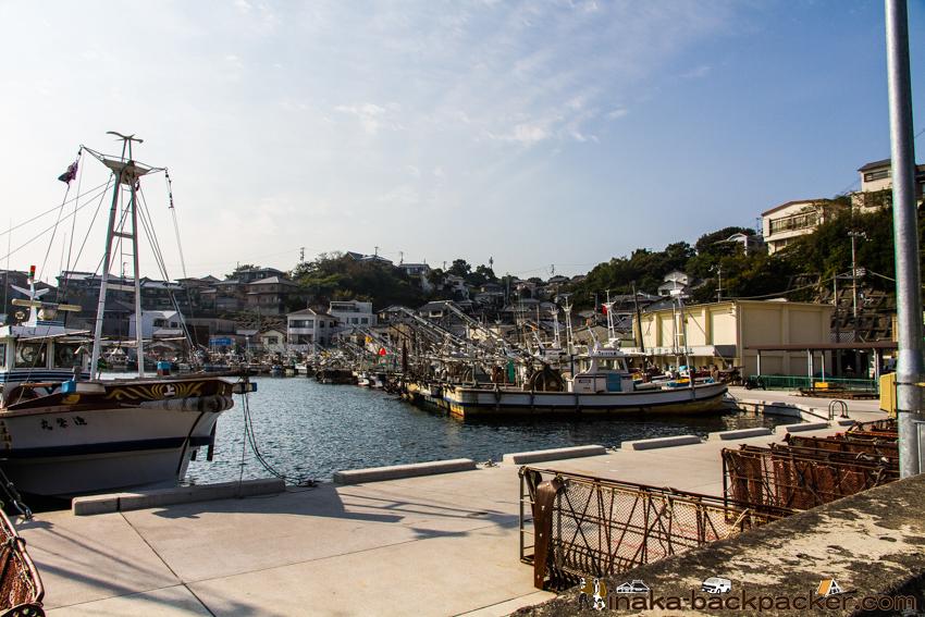 兵庫県 坊勢島の漁港
