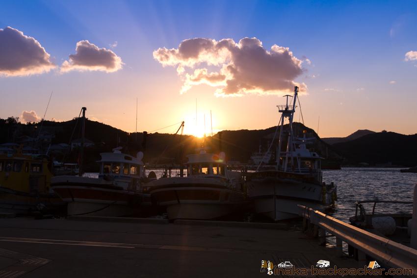 坊勢島 漁港 漁師