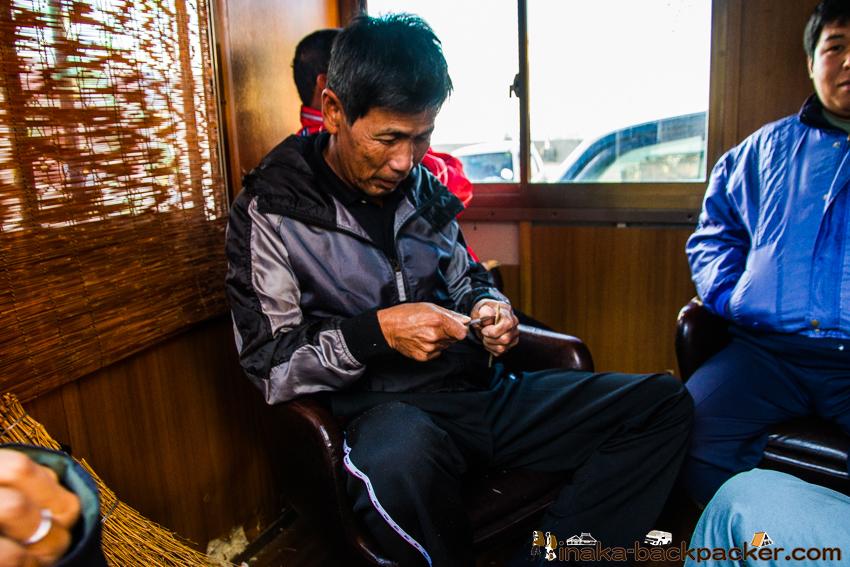 兵庫県 坊勢島 ぼうぜじま 稼ぐ若手漁師 工夫 竹