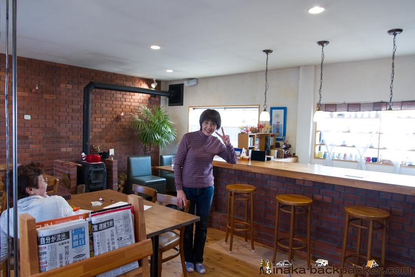 Cafe de COM 英語 店主