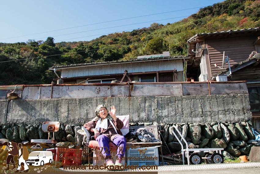 八幡浜大島(愛媛県)のおばあちゃん みかん