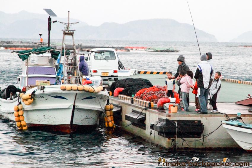 日振島 釣り 穴場 養殖