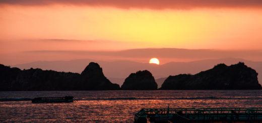 日振島 養殖 笠岡 穴場 漁師 愛媛県 夕日 綺麗なところ