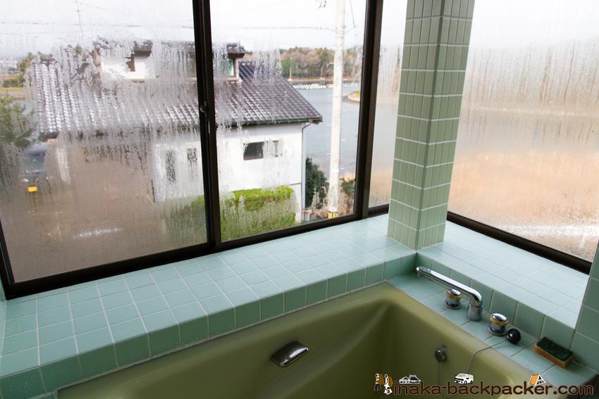 お風呂から海 別荘