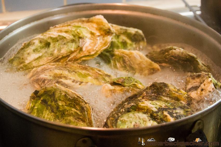 蒸し牡蠣 美味しい