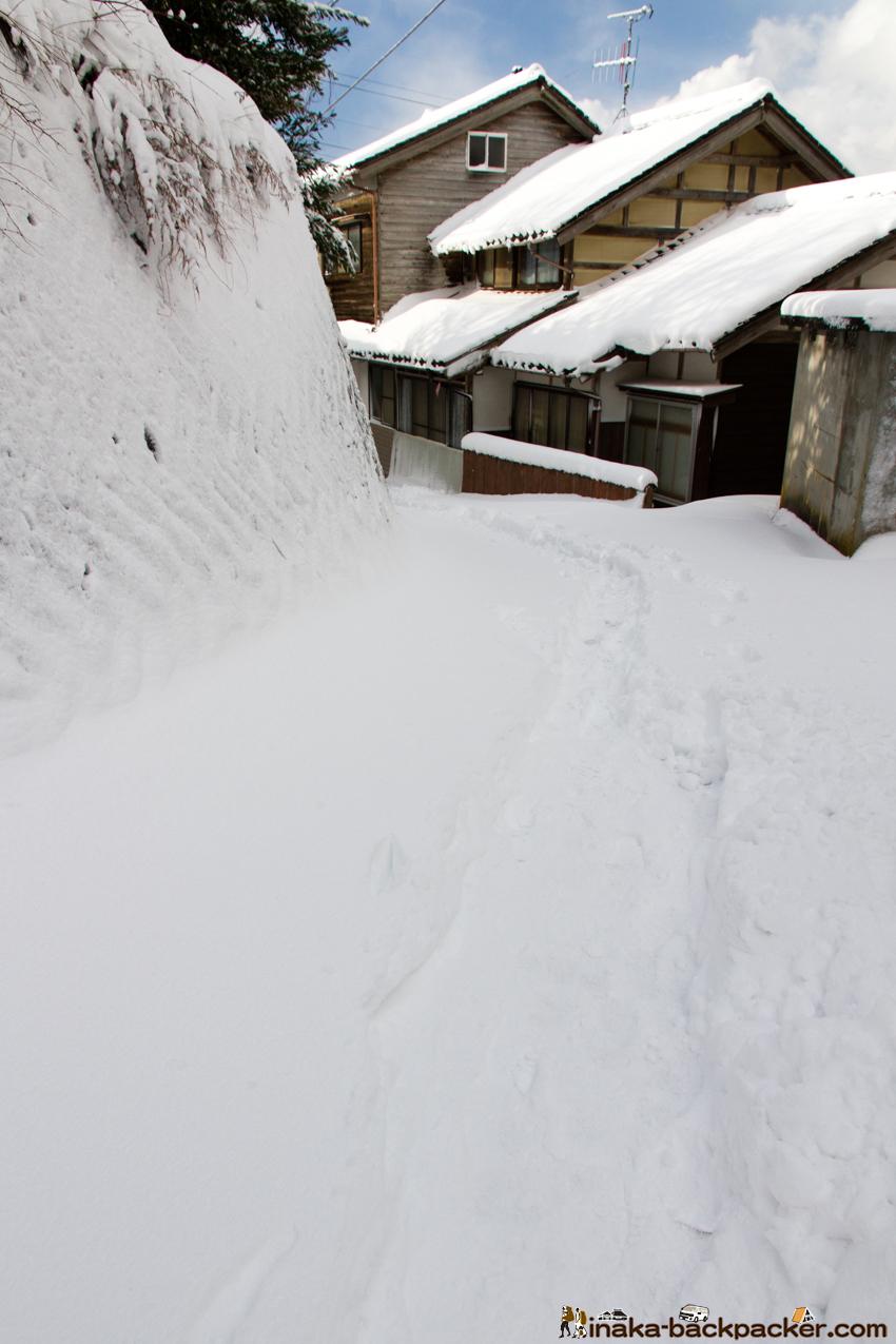 穴水町 雪