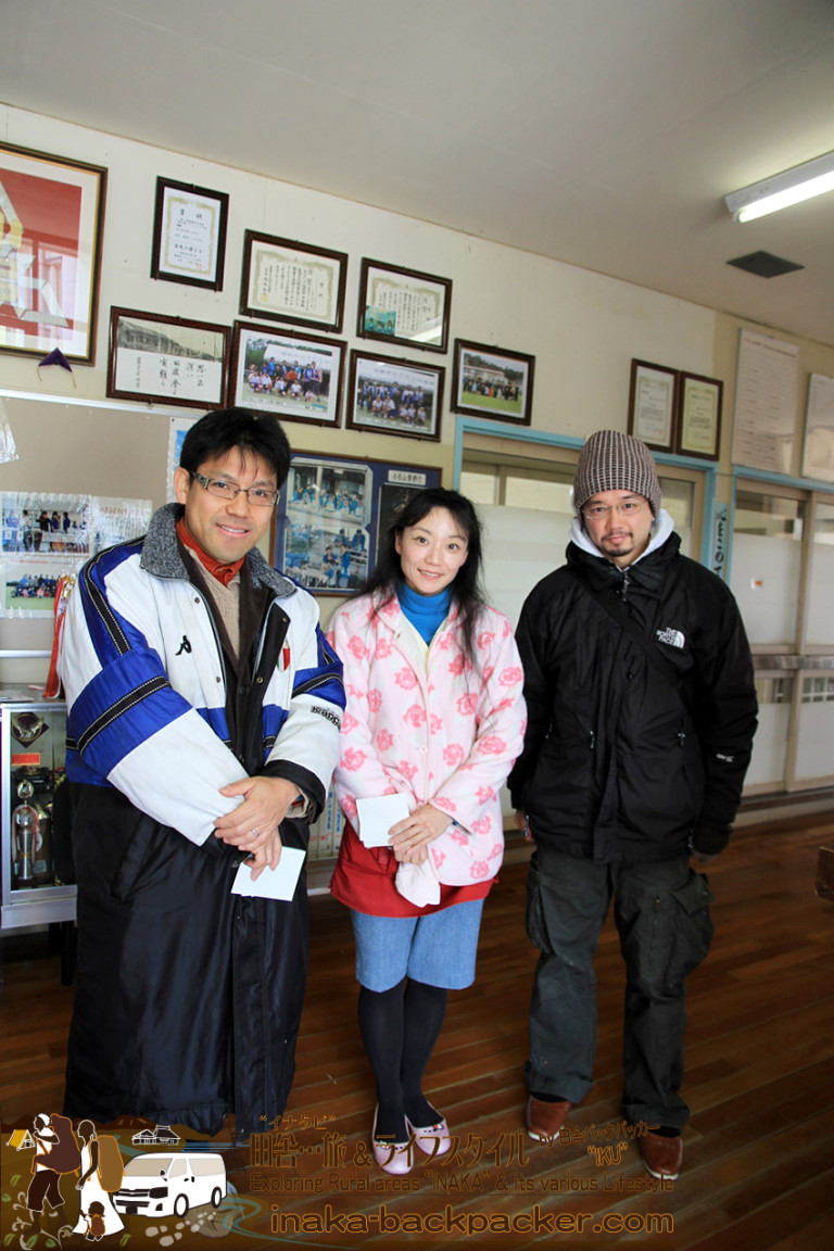 福岡県 小呂島 学校 訪問