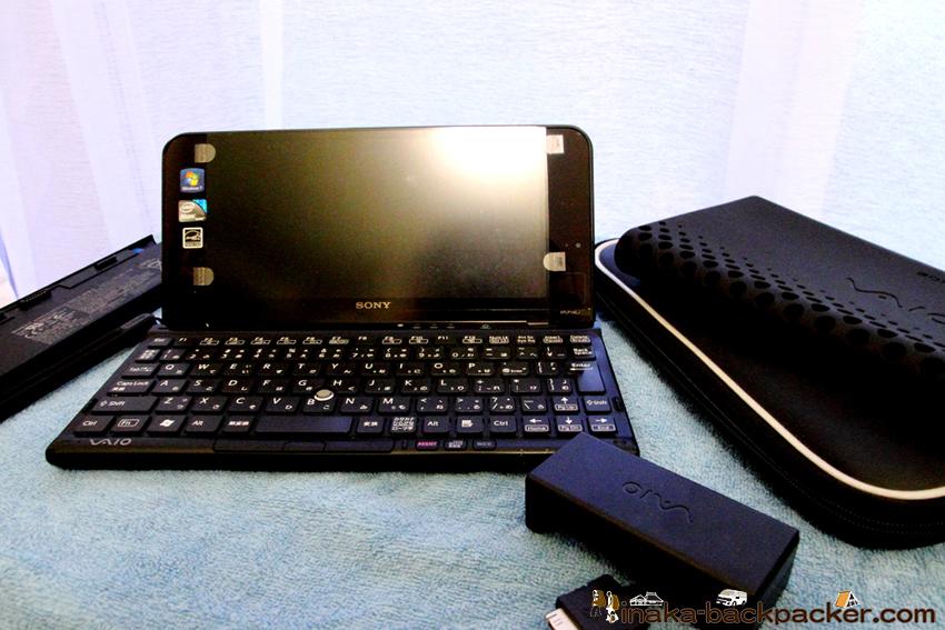 旅 VAIO P パソコン サイズ