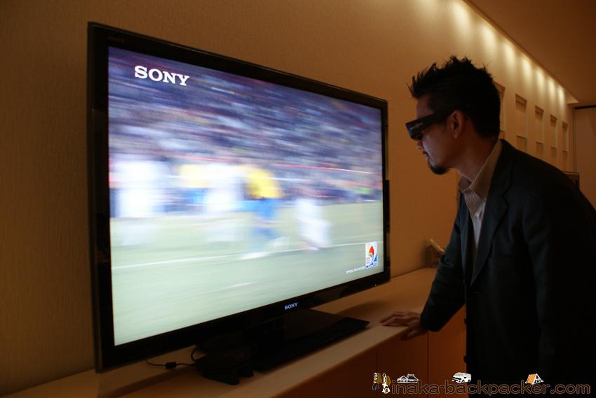 ソニー 3Dテレビ FIFA