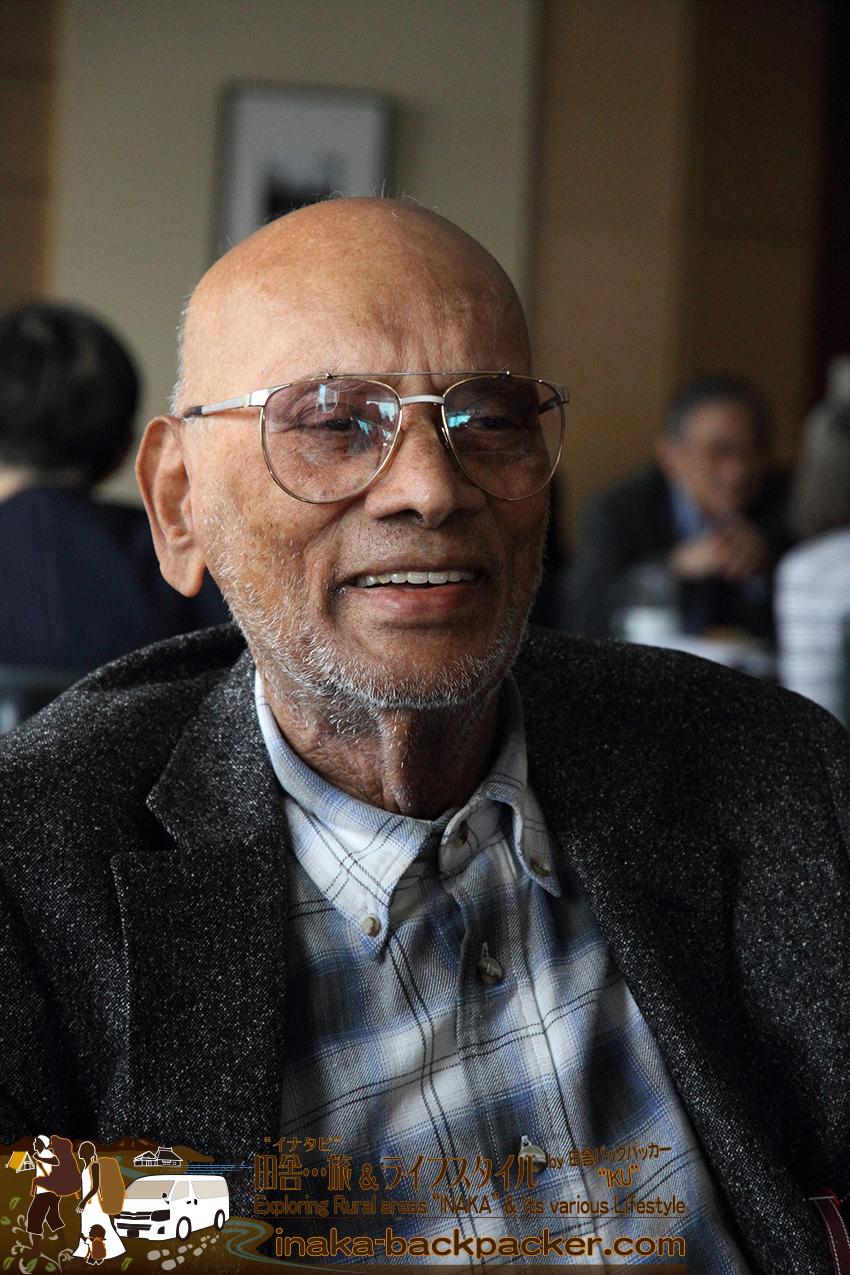 """プレスクラブで出会ったインド出身のチャック(Vellayappa """"Chuck"""" Chokalingam)さん。1914年生まれ 現在99歳。第一次世界大戦が始まったときではないか..."""
