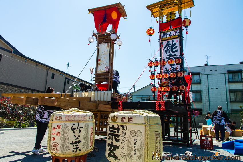東京 能登 キリコ祭り