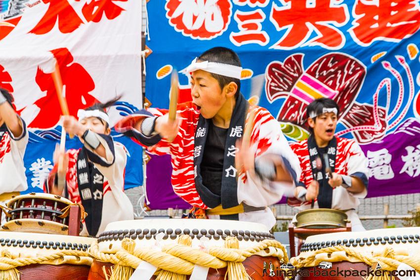 輪島 和太鼓 虎之介 Toranosuke in Wajima, Ishikawa, Japan