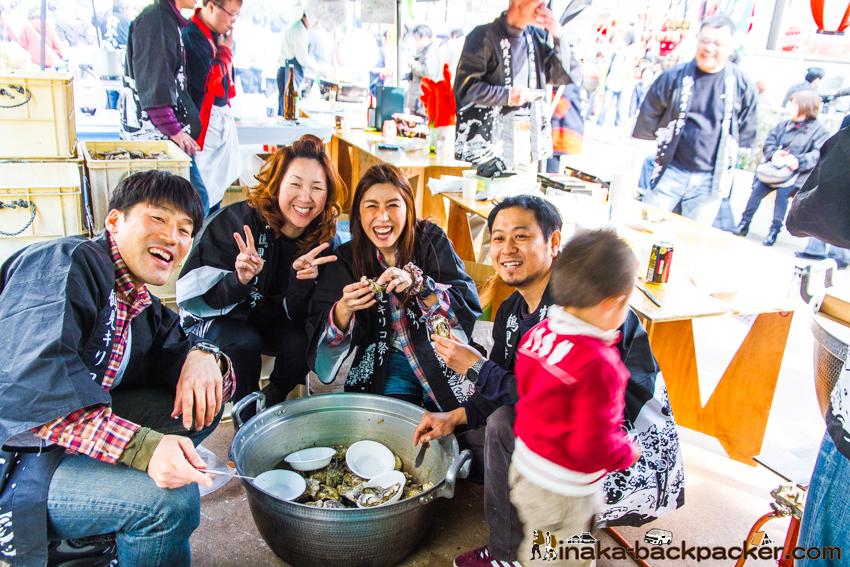 能登牡蠣 かき Noto Oyster in Japan