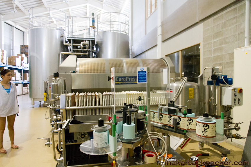 能登ワイン 工場