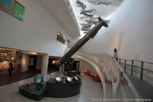 長崎原爆資料館を結花と見学中