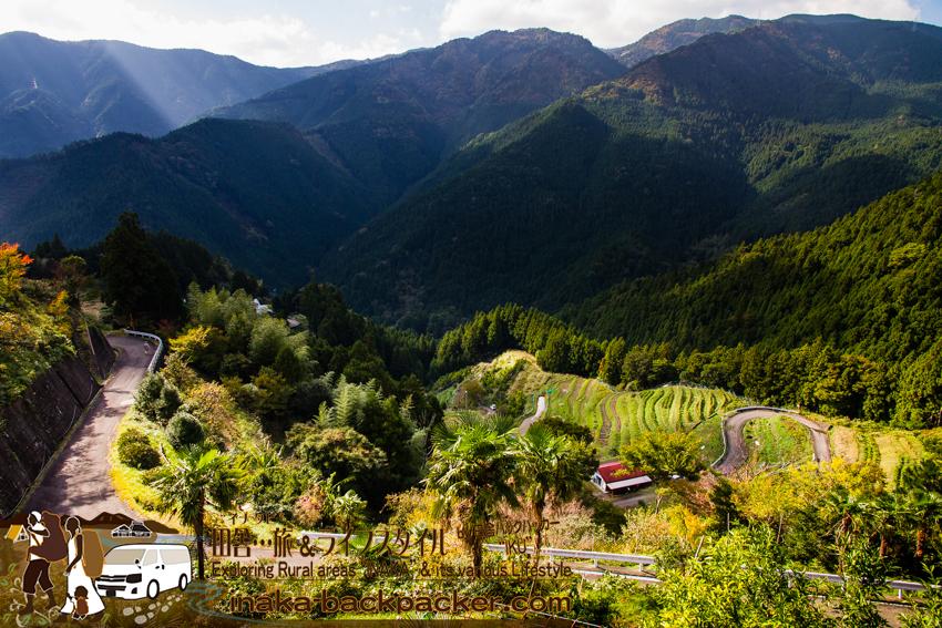 徳島県勝浦郡上勝町 - 「市宇の棚田」をさらに登ると...こんな景色が待っている。