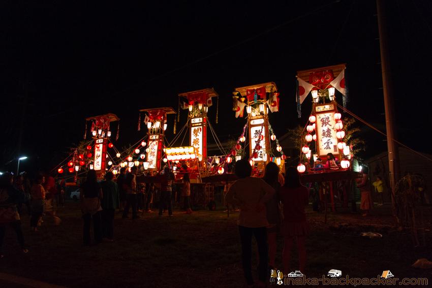 穴水町 キリコ祭り 岩車