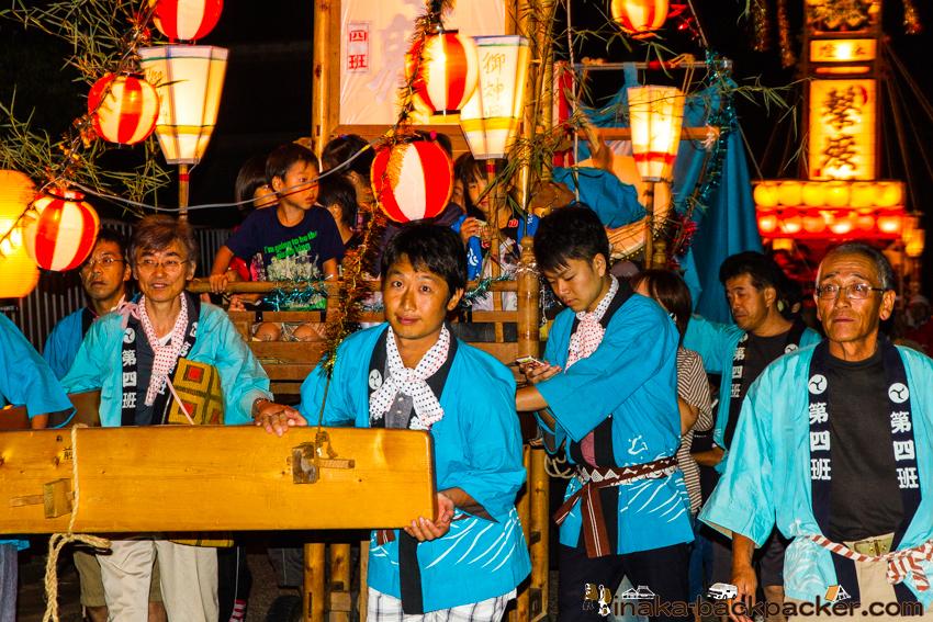 穴水町 岩車 キリコ祭り 平田さん