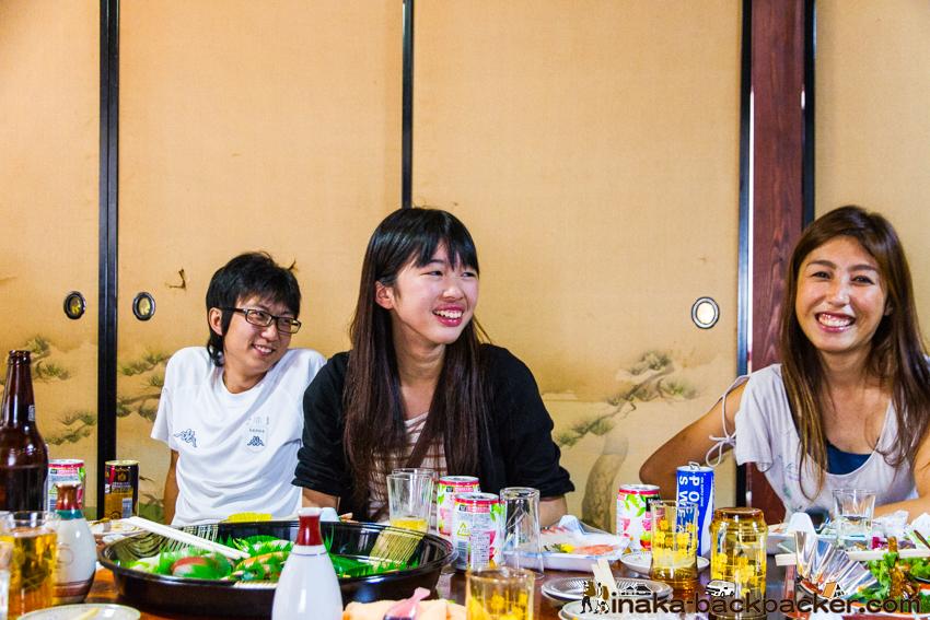 キリコ祭り 留学生 exchange student at kiriko festival