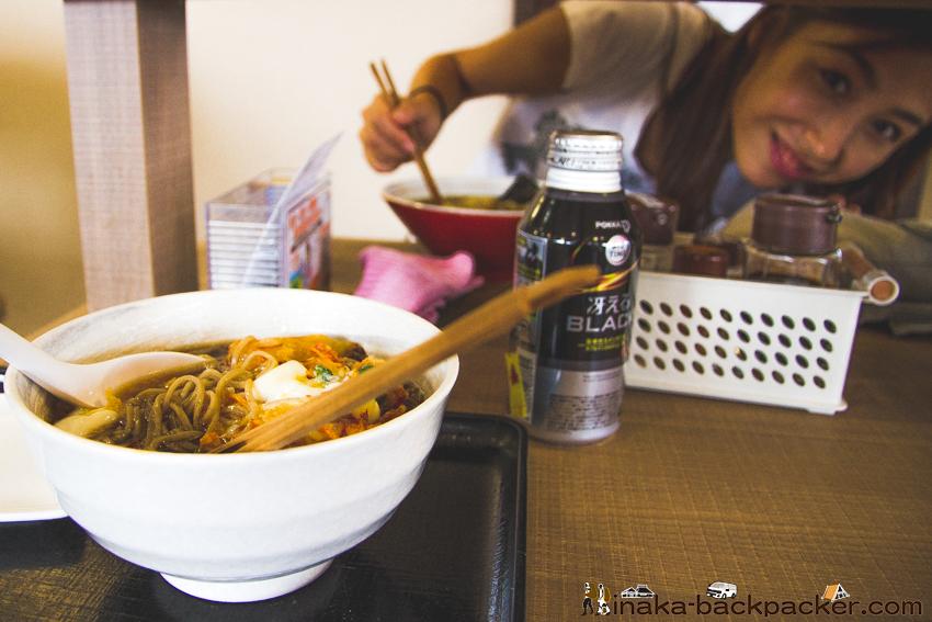 八ヶ岳サービスエリア かき揚げ蕎麦