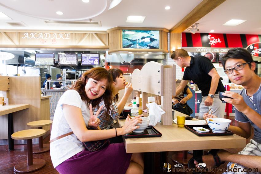 八ヶ岳サービスエリア 昼食