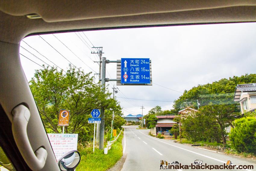 長野県 田舎道