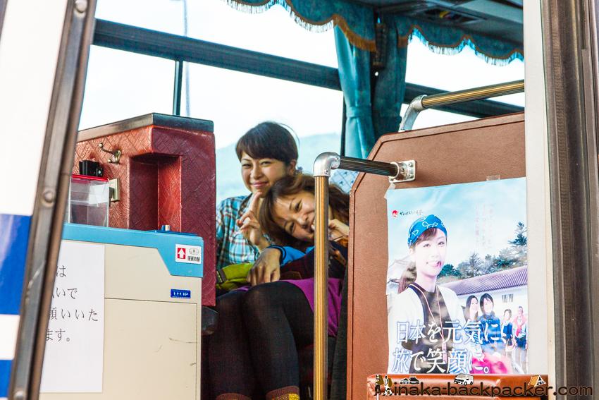 室堂へのバス 日本を元気に ポスター