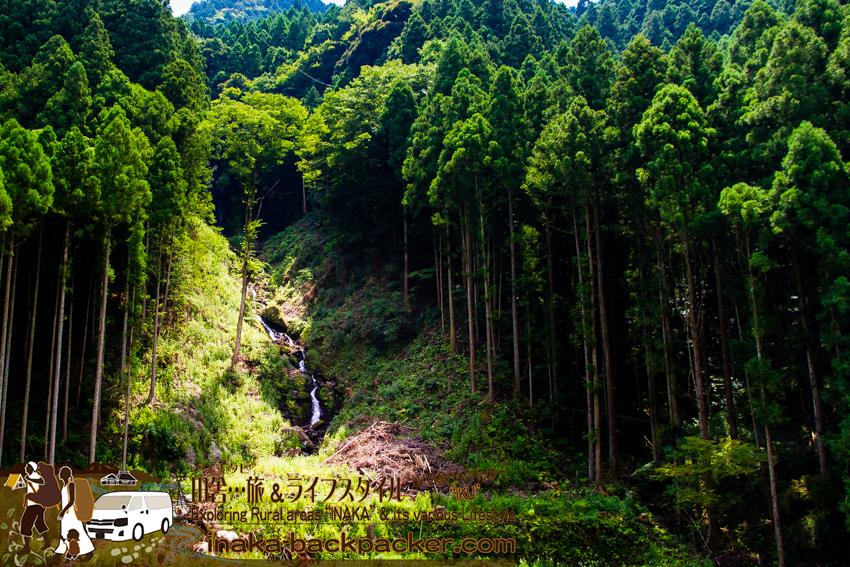 上勝町 猿滝 幻の滝 人生いろどり ロケ地 tokushima kamikatsu