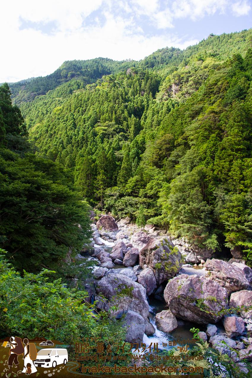 徳島県 上勝町 絶景 スーパー林道