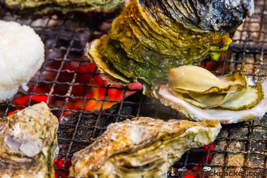 石川県 能登半島 穴水町 牡蠣 炭火焼き バーベキュー Ishikawa Noto Oyster BBQ