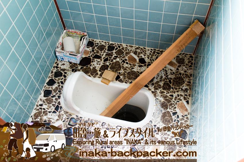 能登 穴水町 田舎 地方の空き家 汲み取り式トイレが多い