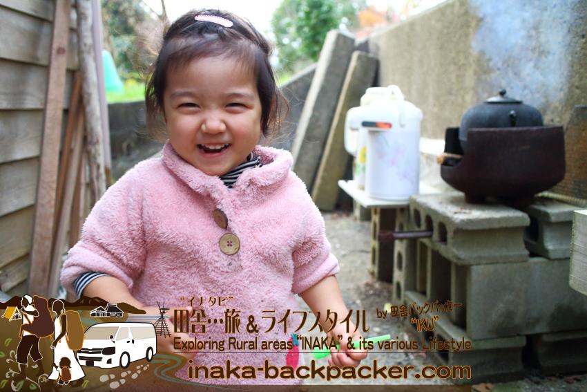 能登・穴水町岩車 - 娘・子どもたちに、薪生活含め自然から体感する生活の選択肢があることを知ってほしい。