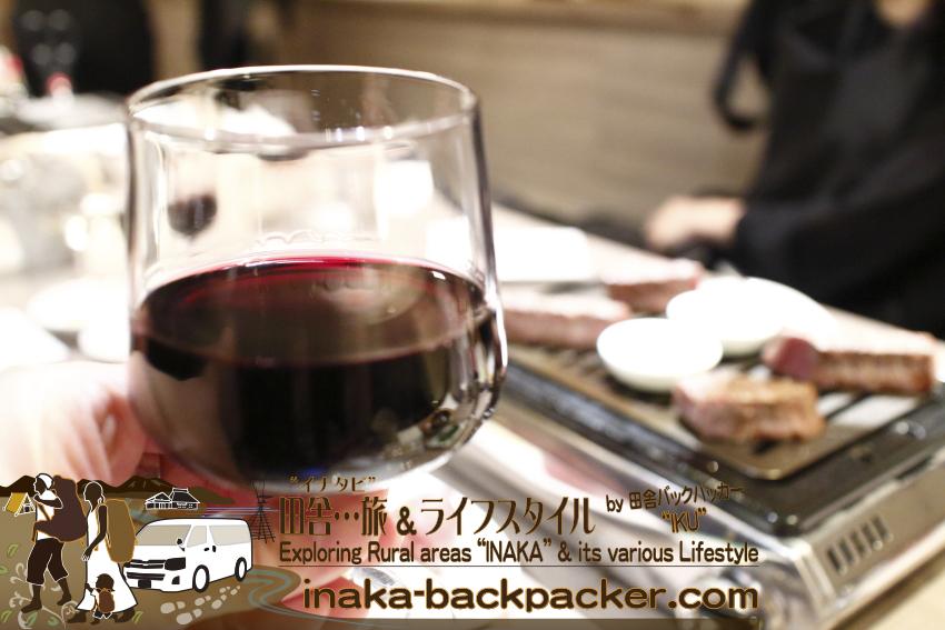 うしごろバンビーナ五反田店(東京都) - 焼肉とワイン...合うね。ステーキとワインが合うようにね。