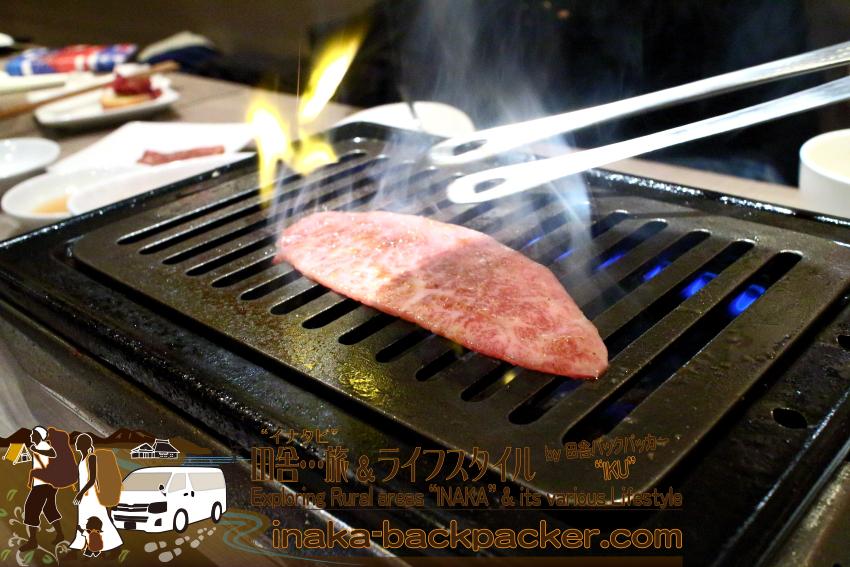 うしごろバンビーナ五反田店(東京都) -  ミスジ・シンシンを......焼く...そして...食べる。