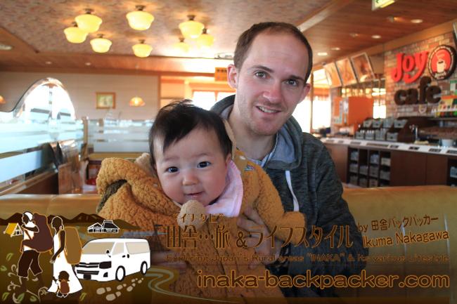 能登・金沢市内灘(うちなだ)- 早朝、内灘でご飯を食べて、次の旅先 東京、四国、九州へと向かったJM。