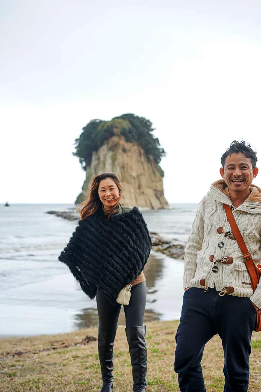 田中秀宗さん(ニックネームKyahさん)と奥さんのまりえちゃん