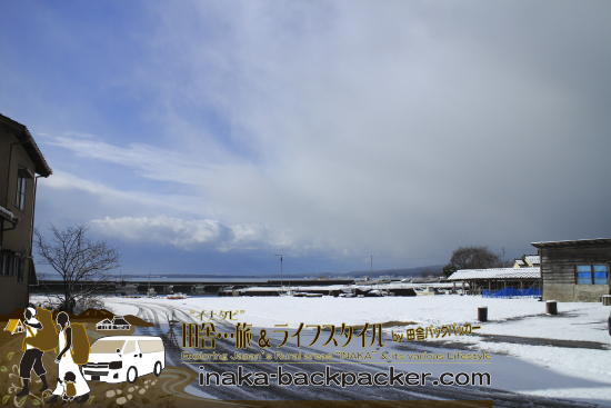 能登・穴水町岩車(石川県)  - こっちを見ると曇り空...変わりやすく不安定な天候が続く日本海側だ